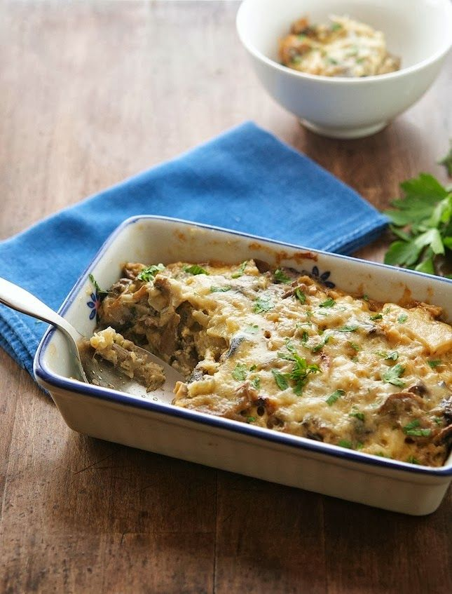 Caramelized Cauliflower and Mushroom Casserole ...