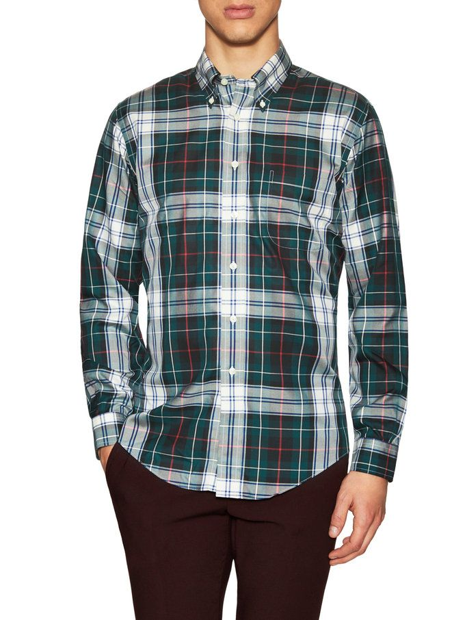 Cotton Holiday Plaid Sportshirt from Gifts for Him: Under $75 on Gilt