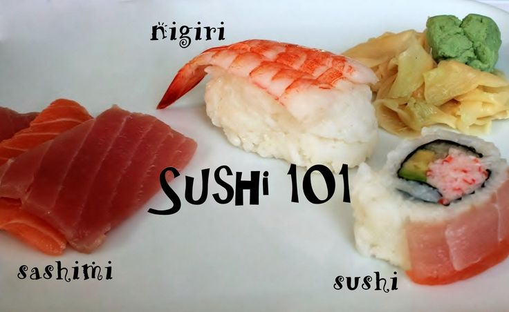 The Different Kinds of Sushi: Types, Names, and Photos