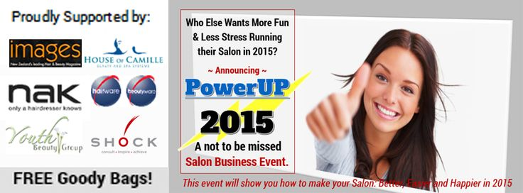 PowerUP2015 a Not to be Missed Salon Business Intensive... Check it Out if you're a salon owner wanting to hit the next level in business... http://salonbusinesscoach.com/event/power-up-2015/