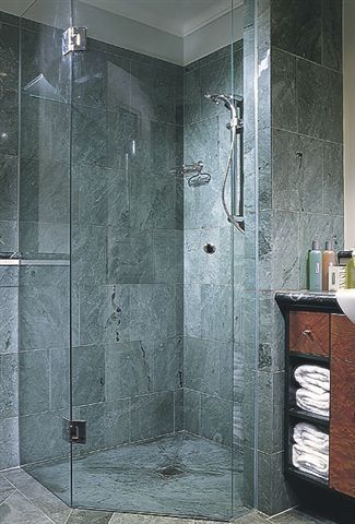 Stylish Shower Screen Photo by Custom Bathroom Renovations Sydney