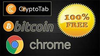 CryptoTab earn #bitcoin while you use #google #chrome add