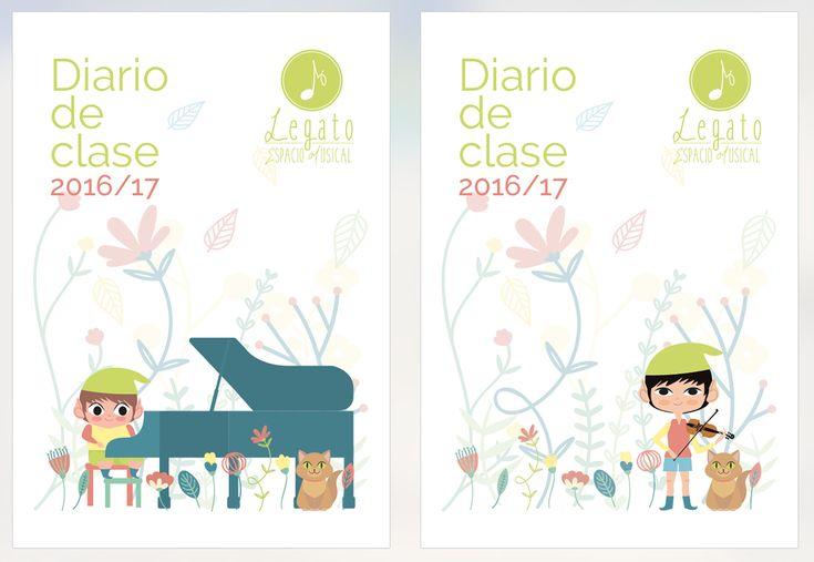Legato Espacio Musical on Behance by Lydilena