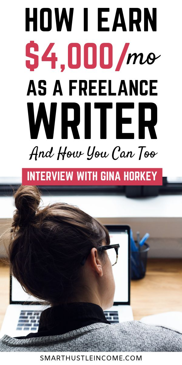 How Gina Makes A Full-Time Income As A Freelance Writer – Best of Smart Hustle Income