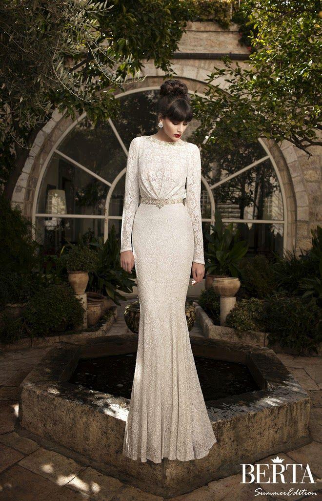 Berta Bridal Summer 2014 Wedding Dresses | bellethemagazine.com