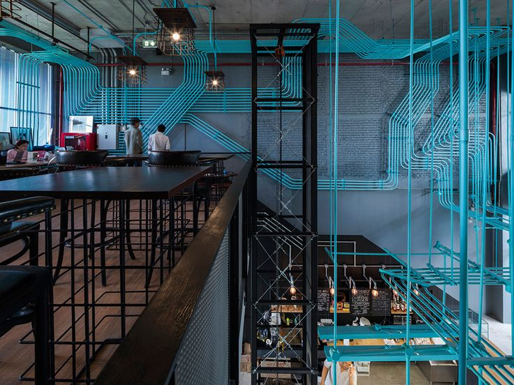 Co-working hub by Supermachine Studio is a conduit for creativity - News - Frameweb