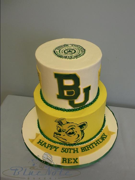 #Baylor birthday cake! #SicEm #SailorBear: Baylor Birthday, Collegiate Cakes, Paige Cakes, Grooms Cakes, Birthday Cakes, Bears Birthday