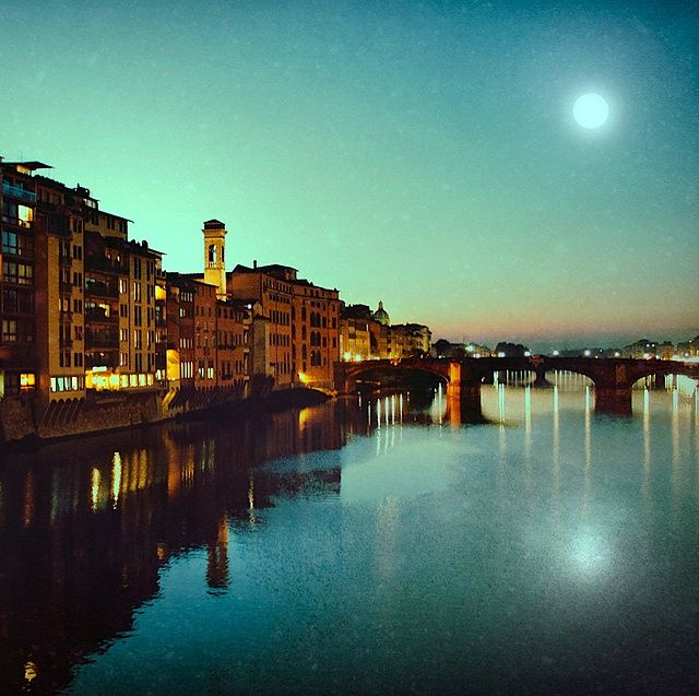 Moon River in Florence