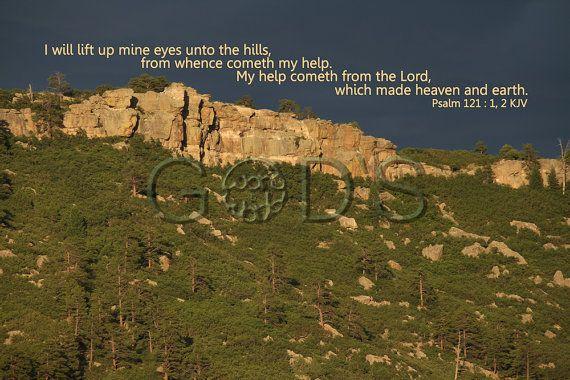 Psalm 121:12 KJV Scripture Picture Item 188 by GodsWordandWorld