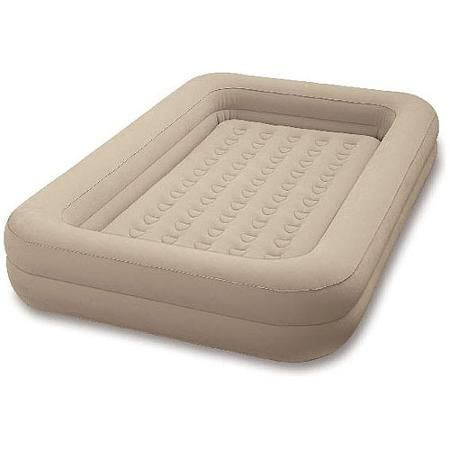 Intex Kidz Travel Bed -- Wish I would have looked at this before I spent money on a toddler bed and mattress!!!