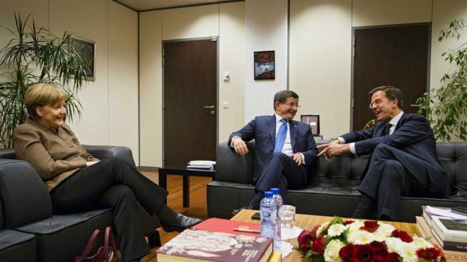 Leaders gather for Turkey-EU summit