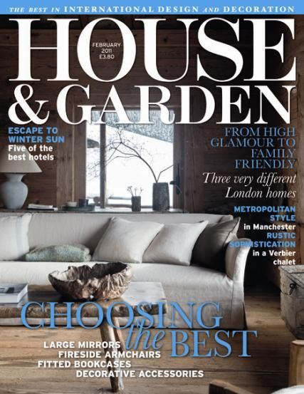 House Garden Is An American Shelter Magazine Published By Cond Nast Publications That Focusses On