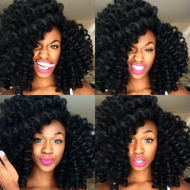 Crochet Hair Curly Long : Photos, Tresses and Tresses au crochet on Pinterest