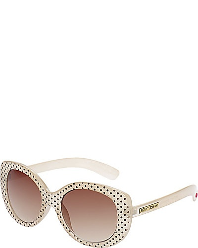 RETRO POLKA DOT FRAME OFF-WHITE