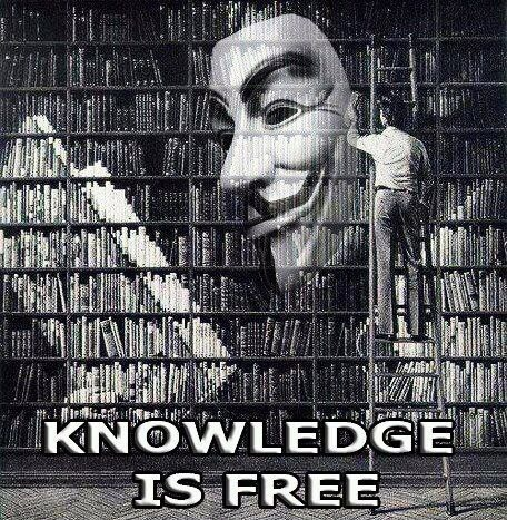 Knowledge is free.