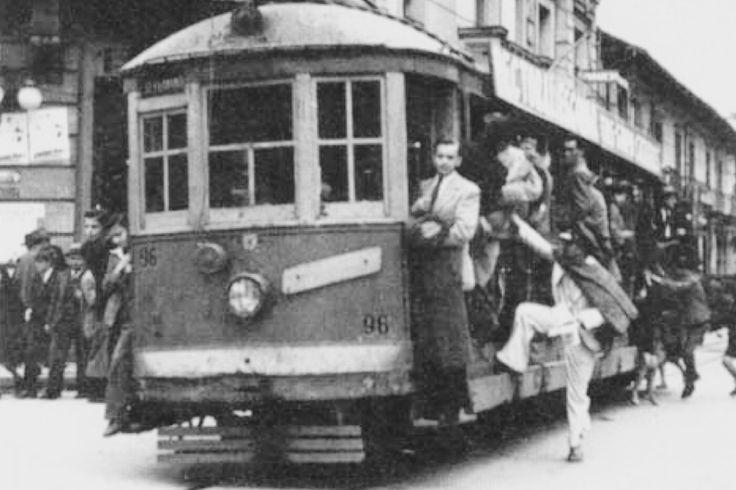 Tranvía de Bogotá en 1930