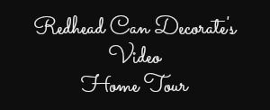 Join Julie as she takes you on a tour of her home in Lake Orion, Michigan.  Lots of decorating ideas!