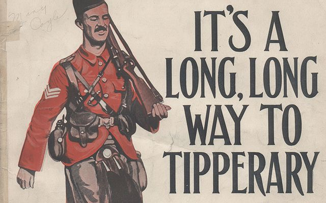 """History of """"Long Way to Tipperary"""" revealed 