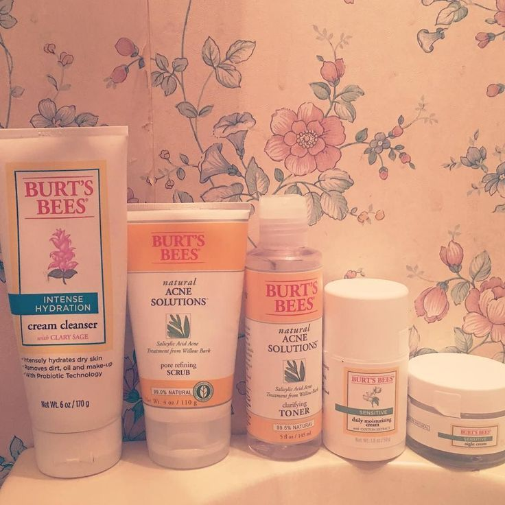 My Burt S Bees Skin Care Collection Cream Cleanser Exfoliator With