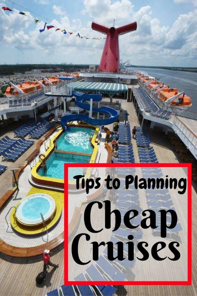 Tips to Plan A Super Cheap Cruise