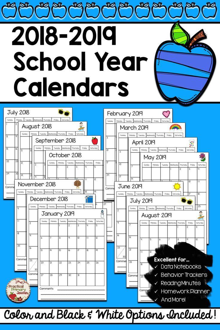February 2020 Behavior Calendar 2019 2020 Calendars FREE | The Curriculum Connection | Classroom