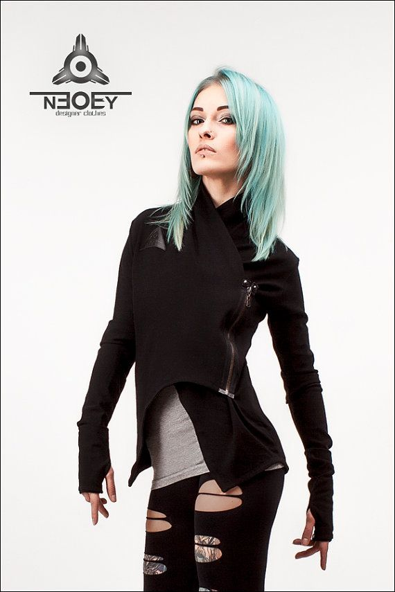 Black Friday!  10% discount on all products in black colour. Apocalyptic Black jersey jacket suit Shunkan with от NEOBYdc
