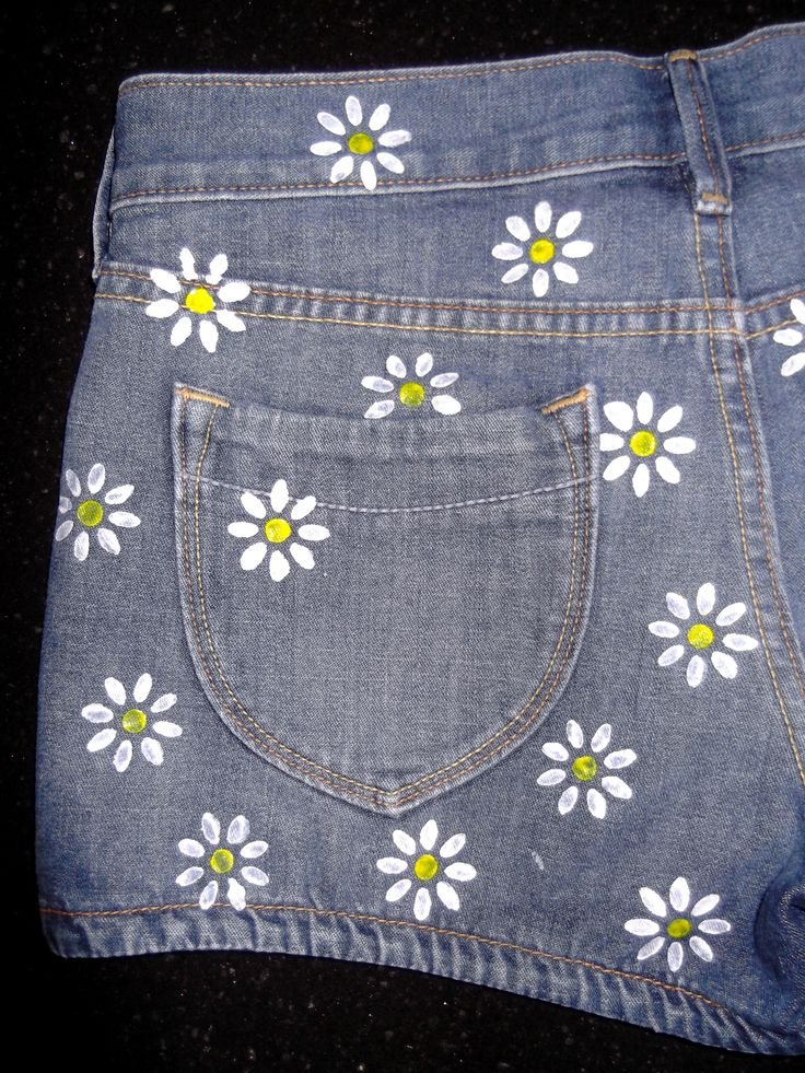 25 Best Ideas About Painted Jeans On Pinterest Diy