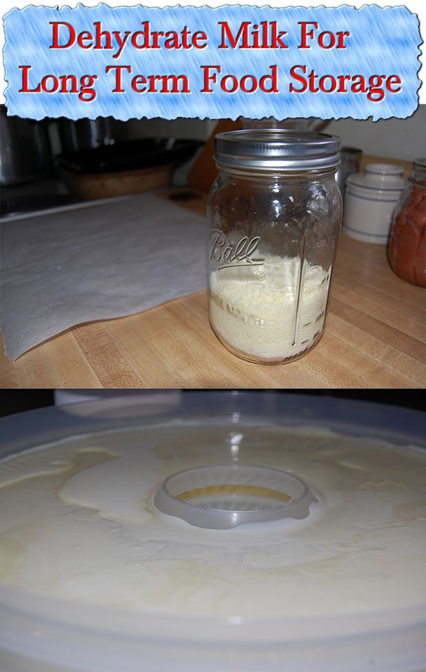 Dehydrate Milk For Long Term Food Storage Continue reading » http://www.livinggreenandfrugally.com/dehydrate-milk-for-long-term-food-storage/