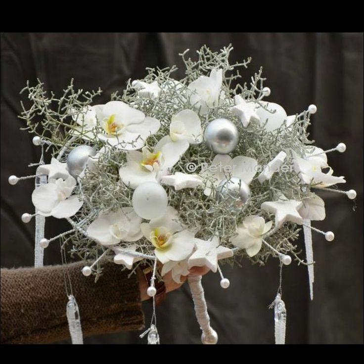 kerst-bruidsboeket 'winter'