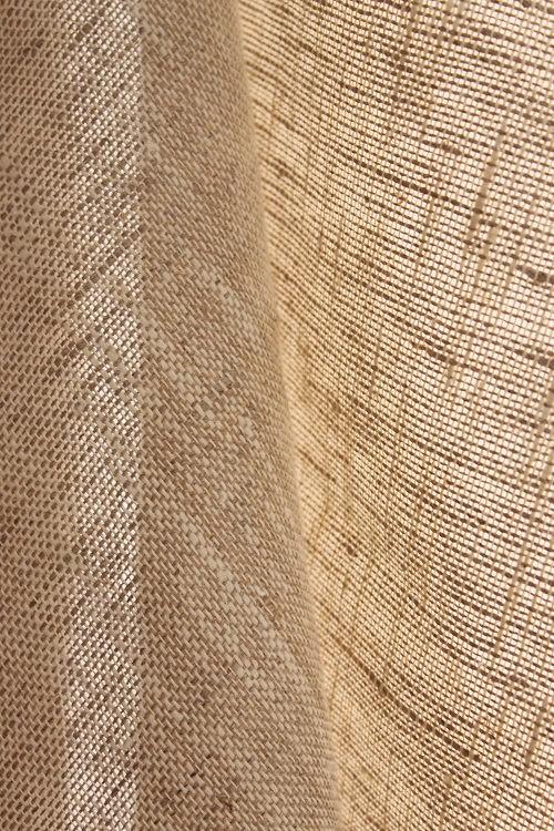 Natural linen hemp curtains