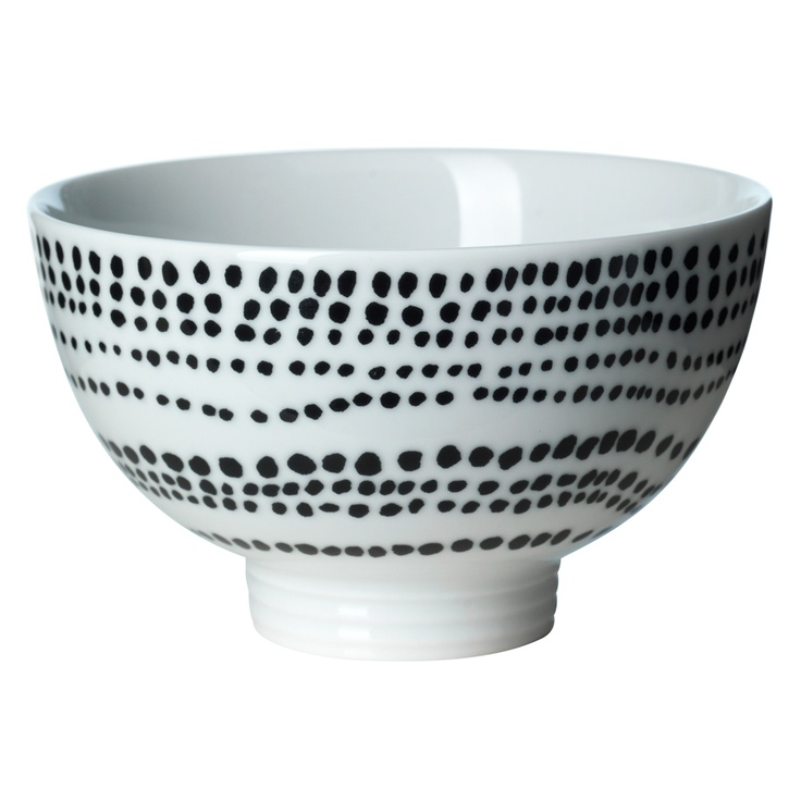 Filippa K Bowl. DIY with porcelain paint.