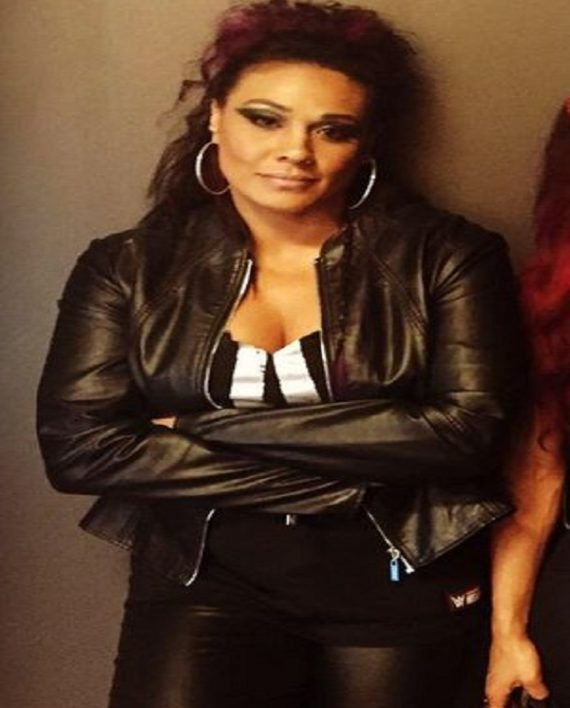 Tamina Snuka Leather Jacket (2)