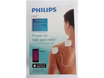 Philips PulsRelief tens/ems, smärtlindring. obruten förpackning.  www.simplet.se säljer Philips puls relief åt dig på nätet!