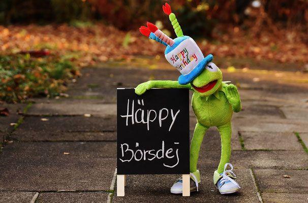 Wir feiern unseren 1. Bloggergeburtstag. Feiert mit :-)
