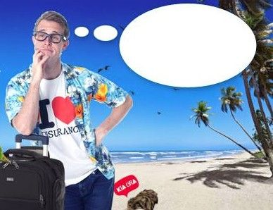 Win $200 for your future holiday with Compare Travel Insurance's caption contest! Open to Aussies and Kiwis!  Just caption what Eugene is pondering under 25 words, the funnier the better, but nothing too rude please.  For full info and to enter click here: https://www.facebook.com/iloveinsurance?v=app_306225262780703=1  Good luck!