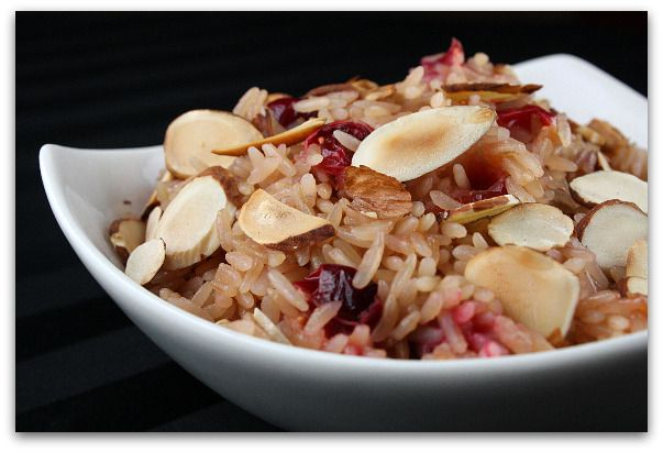 Cranberry Rice Pilaf  Fall Dinner Party Menu | Recipe Girl