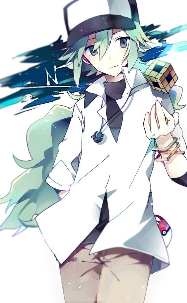 Tags: Anime, Pixiv Id 4203716, Pokémon, N (Pokémon), Brown Pants, Pokéball, Holding Object