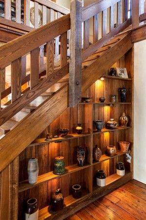 Barn-Home-Stairs Bookcase or grandchild