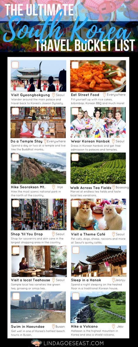 The Ultimate South Korea Travel Bucket List