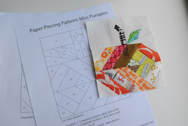 1 4 Quot Mark Paper Piecing Pattern And Tutorial Miss
