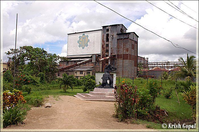 Former rice mill of SML
