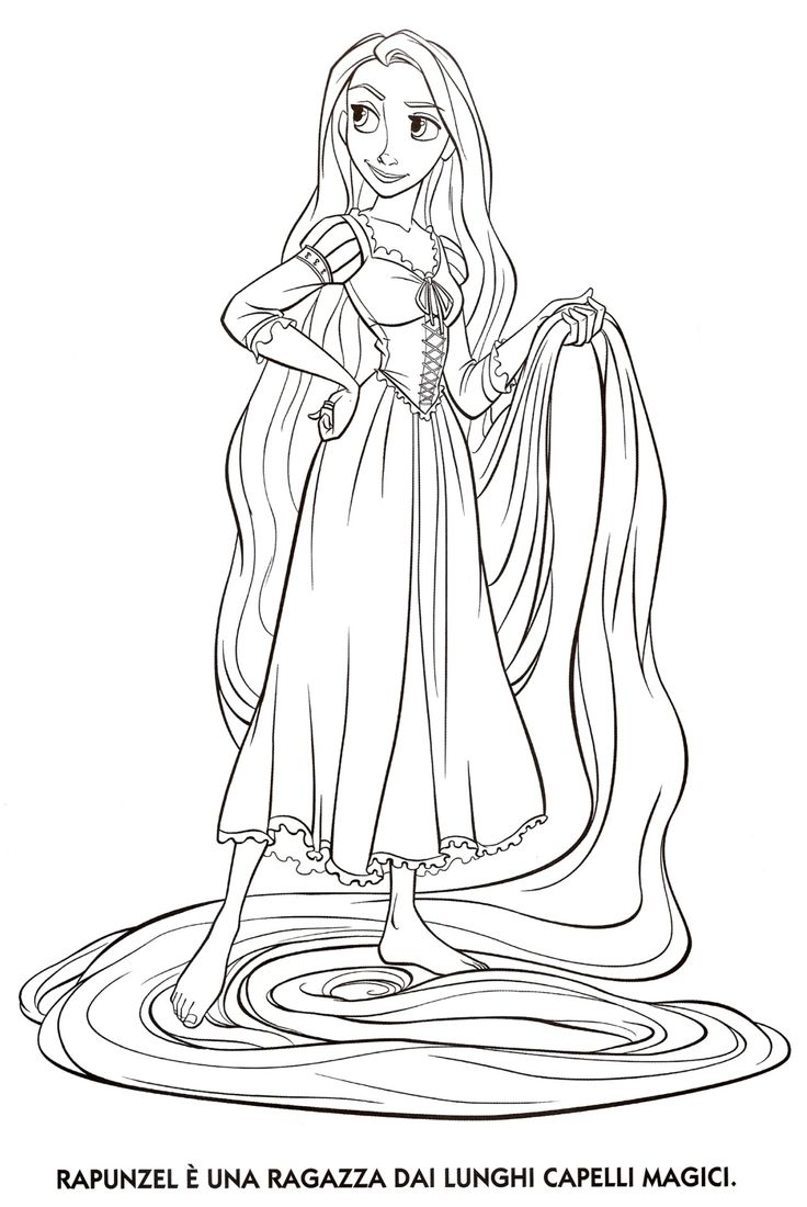 Rapunzel From Tangled Coloring Page Category Select 25683 Printable Crafts Of Cartoons Nature Animals Bible And Many More