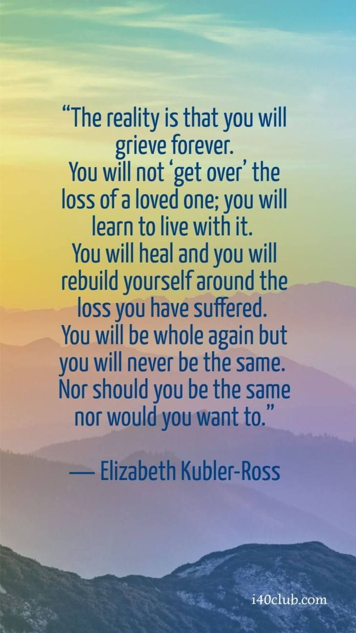 Inspirational Quotes Healing After Death
