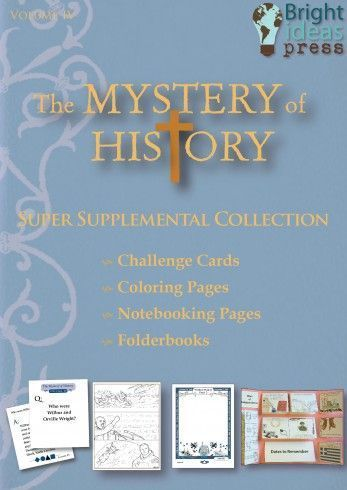 41 best bright ideas press shop images on pinterest bright ideas the mystery of history volume iv super supplemental collection folderbooks notebooking pages fandeluxe Gallery