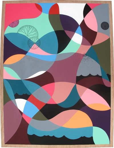 Great use of colour - by Luke Taaffe