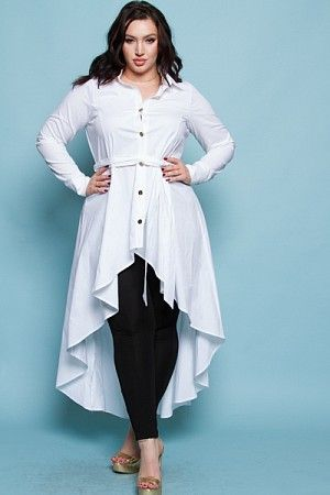 a446f0be03151 WAIST TIED COOL JACKET DRESS Wholesale Plus Size Clothing