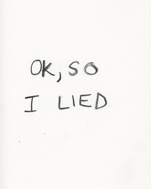 quote, lies, and lied image