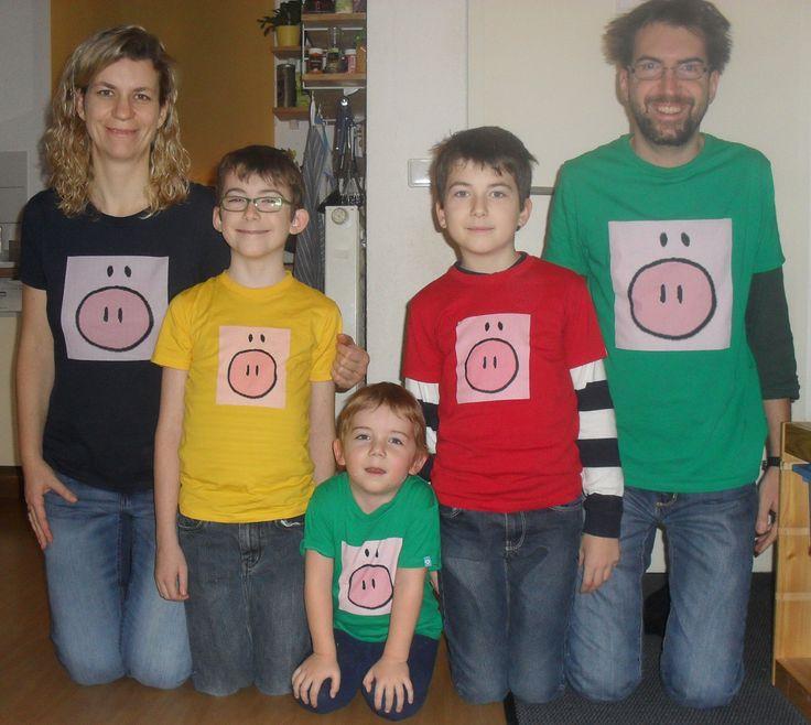 Wenn Du mal nicht mehr weiter weißt, kann Dir das #Quadratschwein auch nicht weiterhelfen ... aber wenigstens siehst Du mit ihm schweinisch gut aus!!! :-) http://gnomunser.spreadshirt.de/