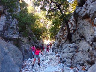 kritsa gorge and village walking