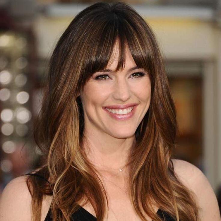 5 ways to do bangs over 40...
